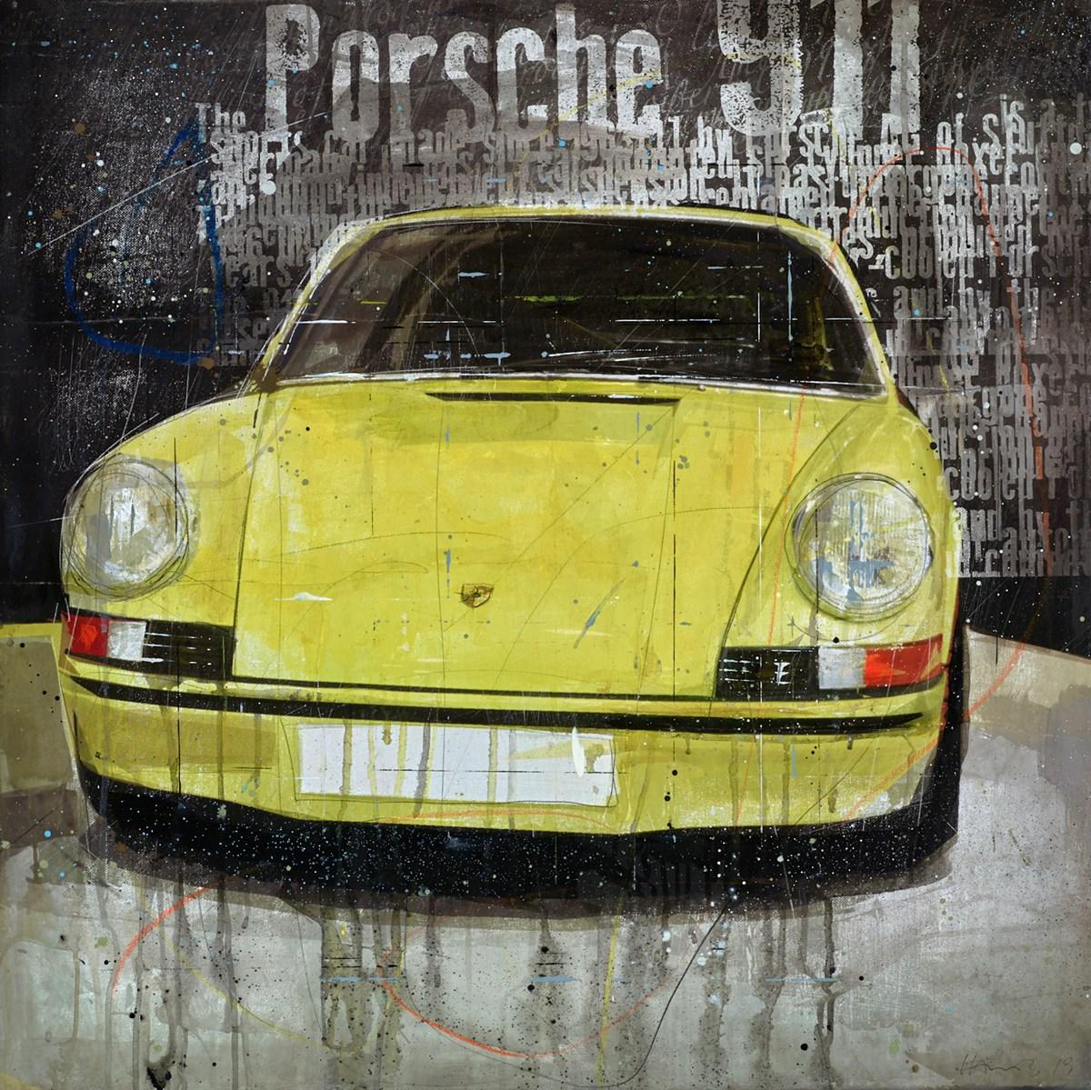 Porsche 911 (Yellow)